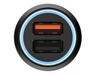 Автомобильное зарядное устройство Xiaomi 70mai car charger Midrive CC02 silver
