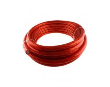 Силовой кабель красный  4AWG (ACV KP21-1301) (за 1 метр)