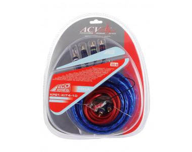 Комплект проводов  10AWG ECO (ACV 21-KIT 4-10) для 4-х канал. усил-ля