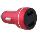 Адаптер автомобильный Autostandart 104276 2USB 3,4A с дисплеем