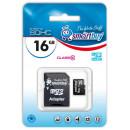 Карта памяти microSDHC 16Gb SmartBuy Class 10