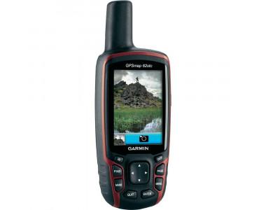 Портативный навигатор Garmin GPSMAP 62stc