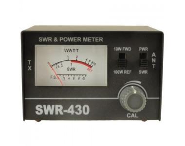 Аксессуары для раций Измеритель КСВ и мощности SWR-430