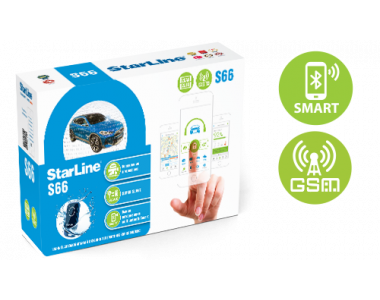 Сигнализация StarLine S66 BT GSM