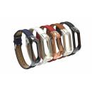 Сменный браслет Xiaomi Mi Band 3 кожаный (в ассортименте)